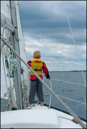 (image of child on sailboat)